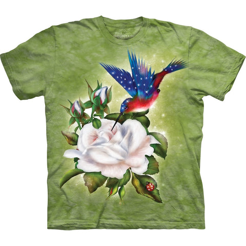 Hummingbird Star Spangled Flight T-Shirt