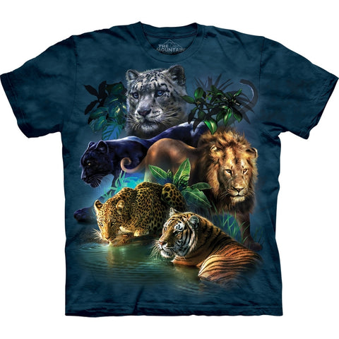 Big Cats in the Jungle T-Shirt
