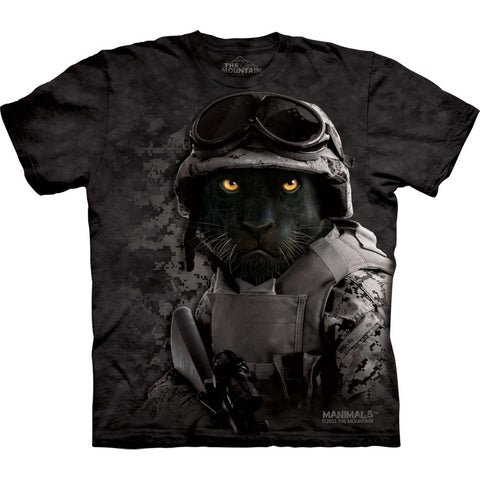 Black Panther Combat Diablo T-Shirt