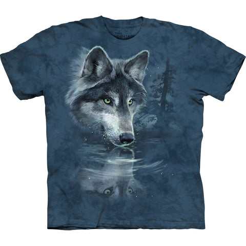 Wolf Water Reflection T-Shirt