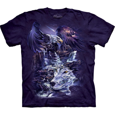 Eagle & Wolf Mountain Unity T-Shirt