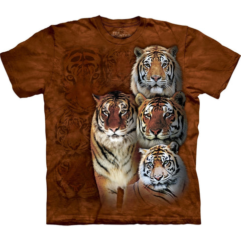 Siberian Bengals Collage T-Shirt