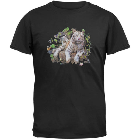 White Tiger Family T-Shirt