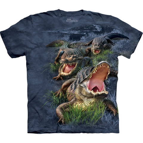 Alligators in Swampy Bog T-Shirt