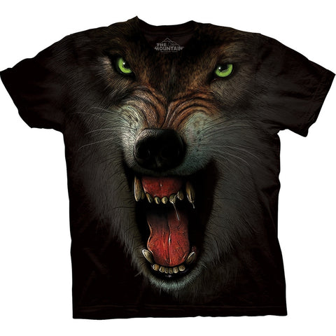 Wolf Close Up Fangs T-Shirt