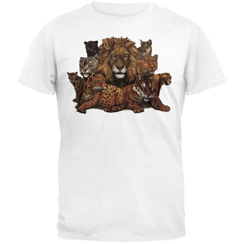 Great Cats Large T-Shirt