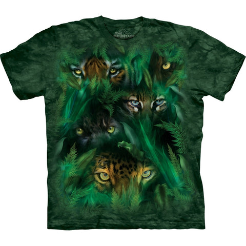 Big Cat Jungle Eyes T-Shirt