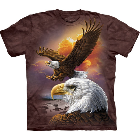 Eagle Cloud Collage T-Shirt