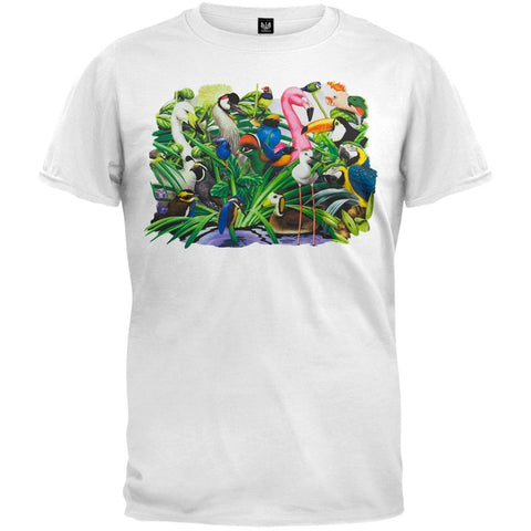 Animal Magic Birds Landscape T-Shirt