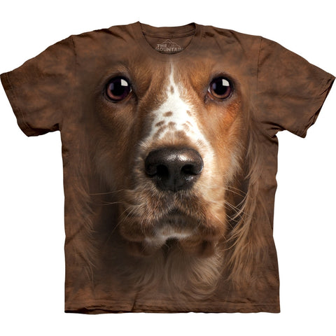 Welsh Springer Spaniel Face T-Shirt