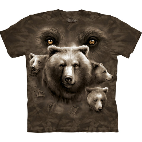 Bear Eyes Collage T-Shirt