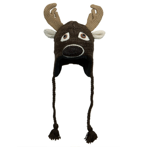 Baby Deer Peruvian Knit Hat