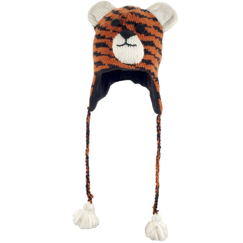 Taz the Tiger Peruvian Knit Hat
