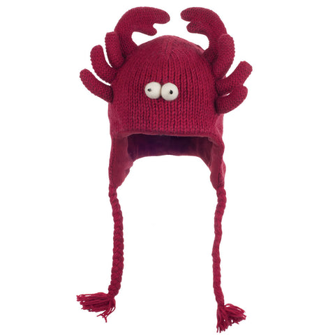 Lobster Kids Peruvian Knit Hat
