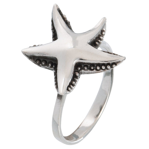 Sea Star Sterling Silver Wrap Ring