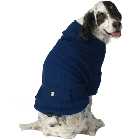 Bentley's Fur Trimmed Royal Hoodie