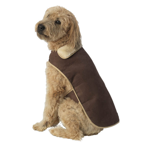 Brown Alpine Dog Coat