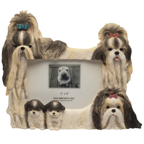 Shih Tzu Family Large Picture Frame