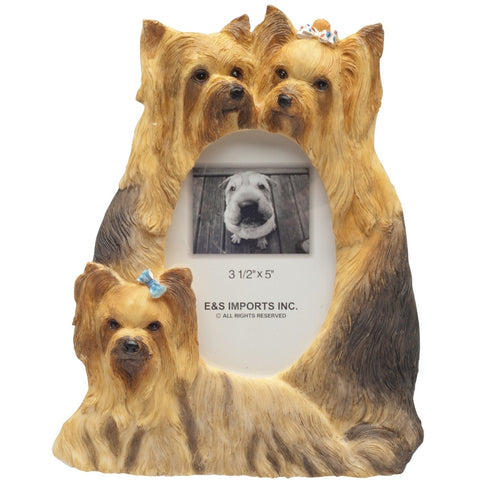 Yorkshire Terrier Family Large Picture Frame