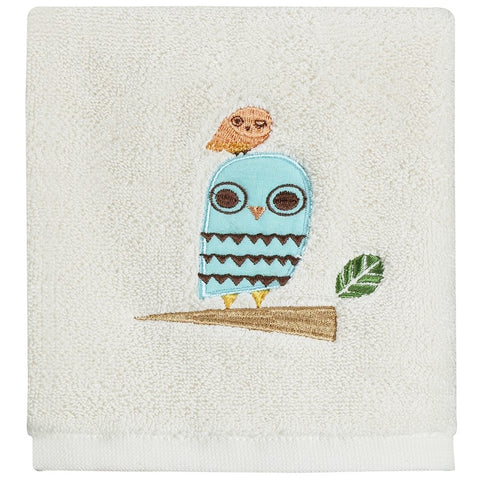 Give A Hoot Wash Cloth