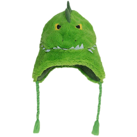 Alligator Toddler Fuzzy Fleece Hat