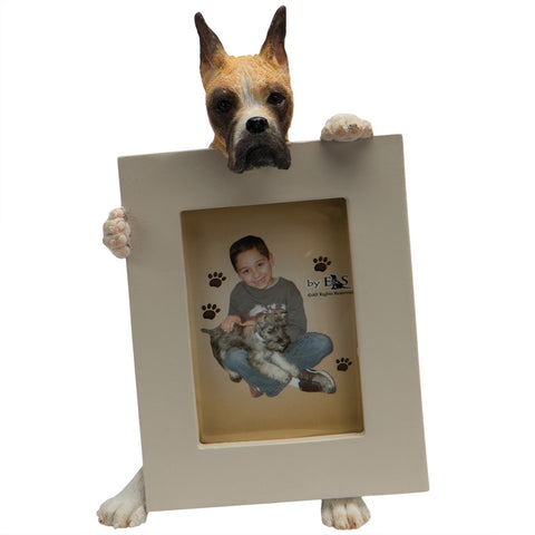 Boxer Holding Frame Small Picture Frame