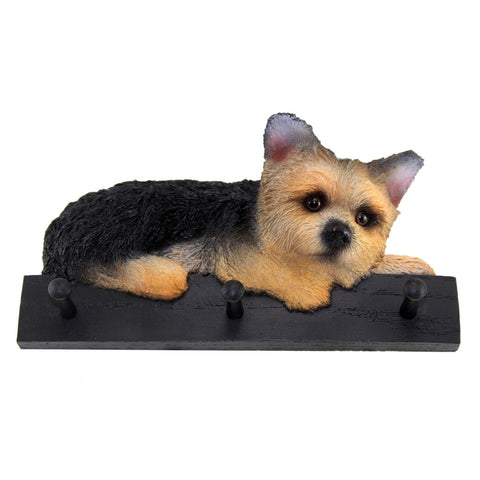 Yorkie Puppy Dog Leash and Kitchen Holder