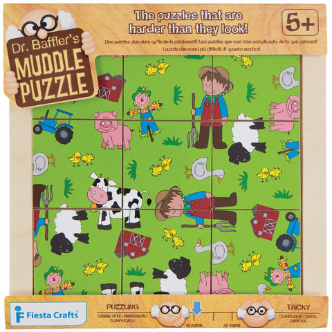 9-Piece Farm Muddle Puzzle