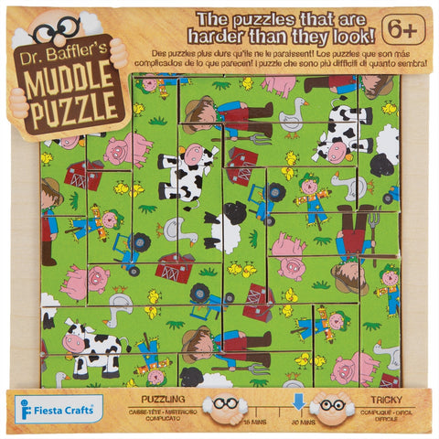 22-Piece Farm Muddle Puzzle