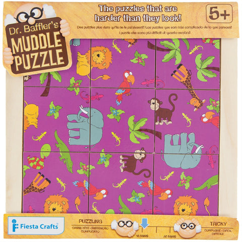 9-Piece Jungle Muddle Puzzle