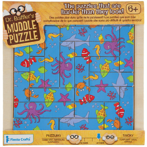22-Piece Sealife Muddle Puzzle