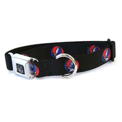Grateful Dead - Steal Your Face Repeat Dog Collar