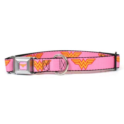 Wonder Woman - Logo Dog Collar
