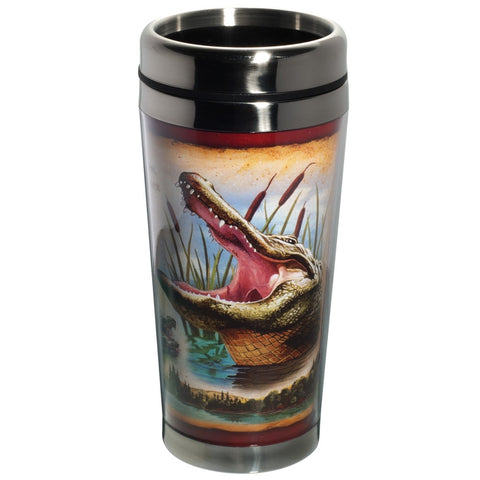 Alligator Steel Travel Mug