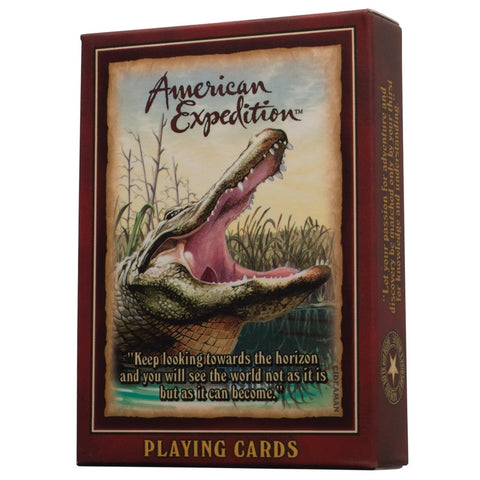 Alligator Playing Cards