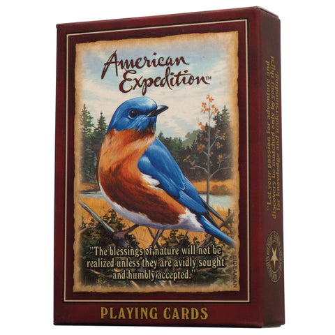 Eastern Bluebird Playing Cards