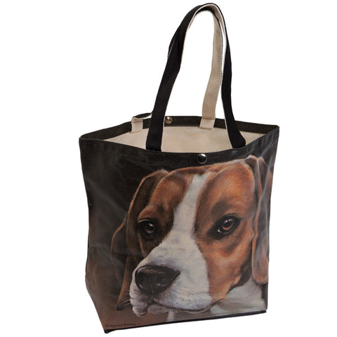 Beagle Canvas Tote