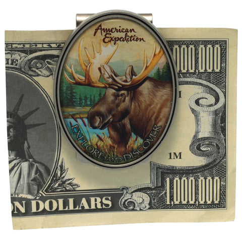 Moose Metal Money Clip