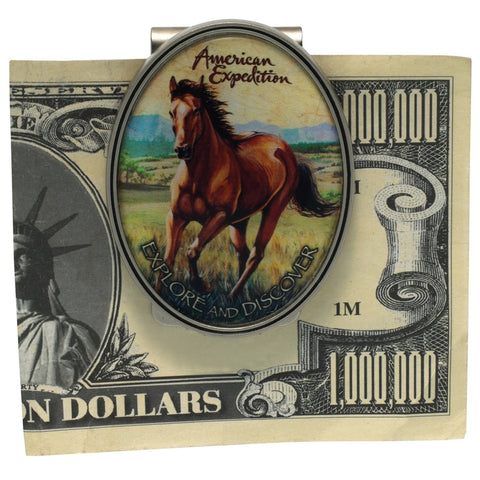 Mustang Metal Money Clip