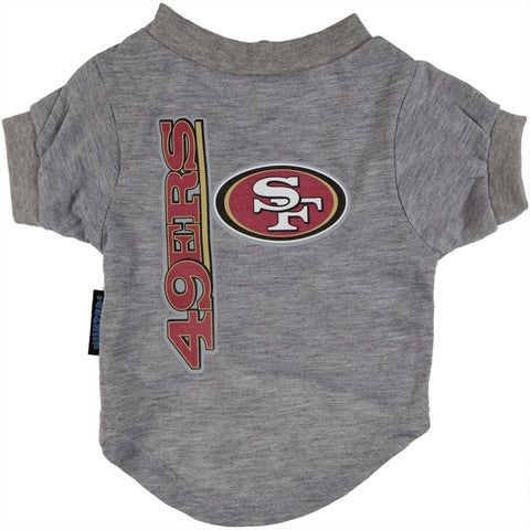 San Francisco 49ers - Logo Dog T-Shirt
