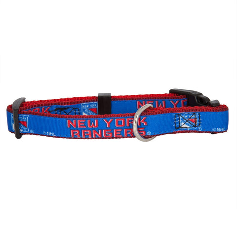 New York Rangers - Logo Dog Collar