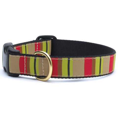 Adirondack Stripe Dog Collar