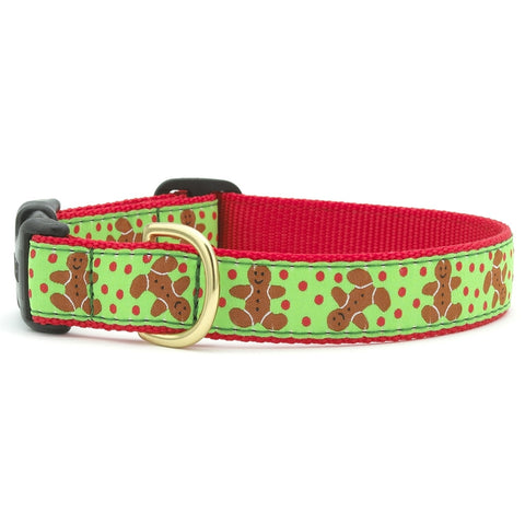 Gingerbread Man Dog Collar