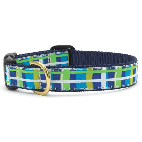 Newport Plaid Dog Collar