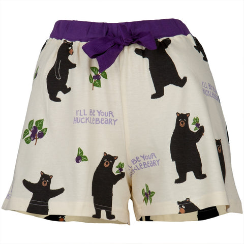 Bear Hucklebeary Women's Boxer Shorts