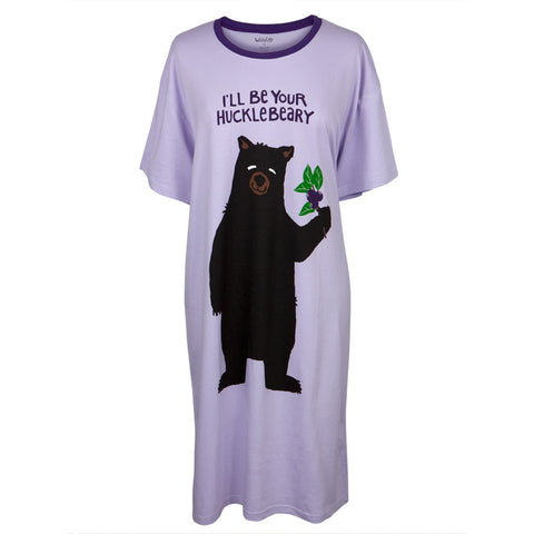 Bear I'll Be Your Hucklebeary Women's Sleepshirt