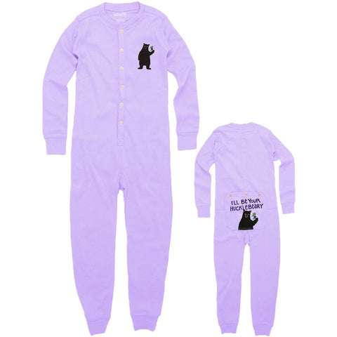 Bear I'll Be Your Huckleberry Infant Pajamas