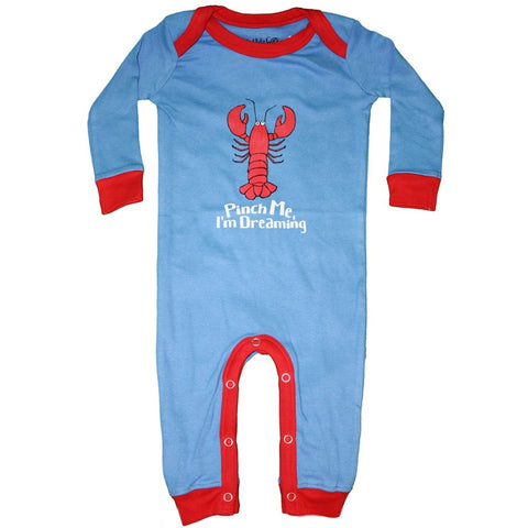 Lobster Pinch Me I'm Dreaming Infant Pajamas