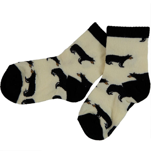 Bears Walking All-Over Kid's Crew Socks