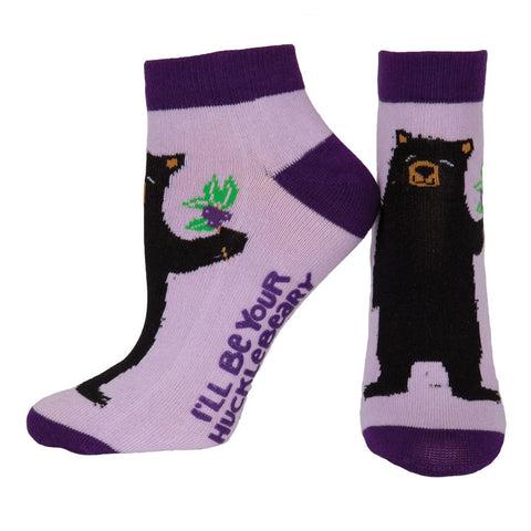 Bear I'll Be Your Hucklebeary Women's Slipper Socks